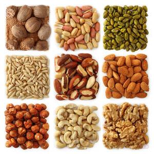 Разновидности орехом