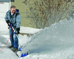 Чудо лопата со шнеком для уборки снега