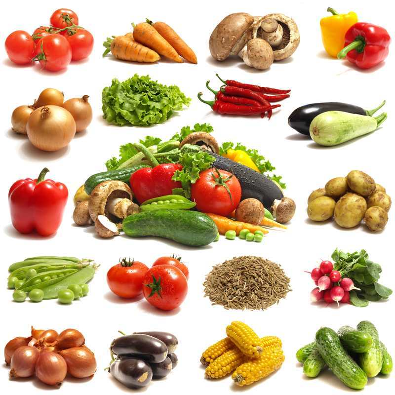 Овощи перечень по алфавиту
