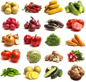 Список овощей