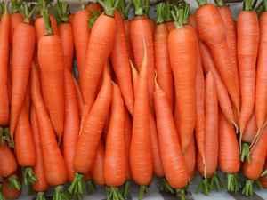 Список овощей в алфавитном порядке: