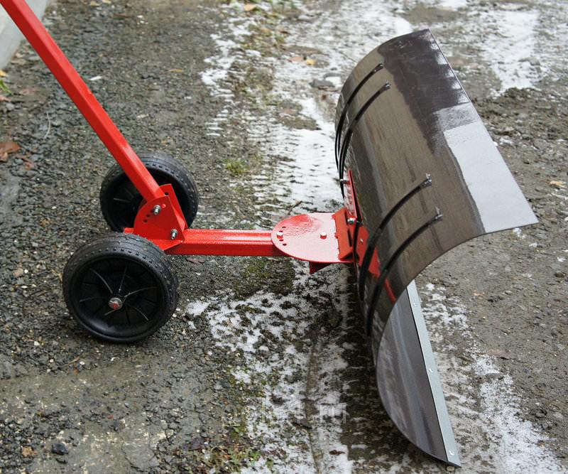 Изготовление лопаты на колесах