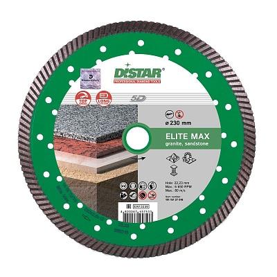 Профессиональный диск для обработки твердого камня DISTAR TURBO ELITE MAX