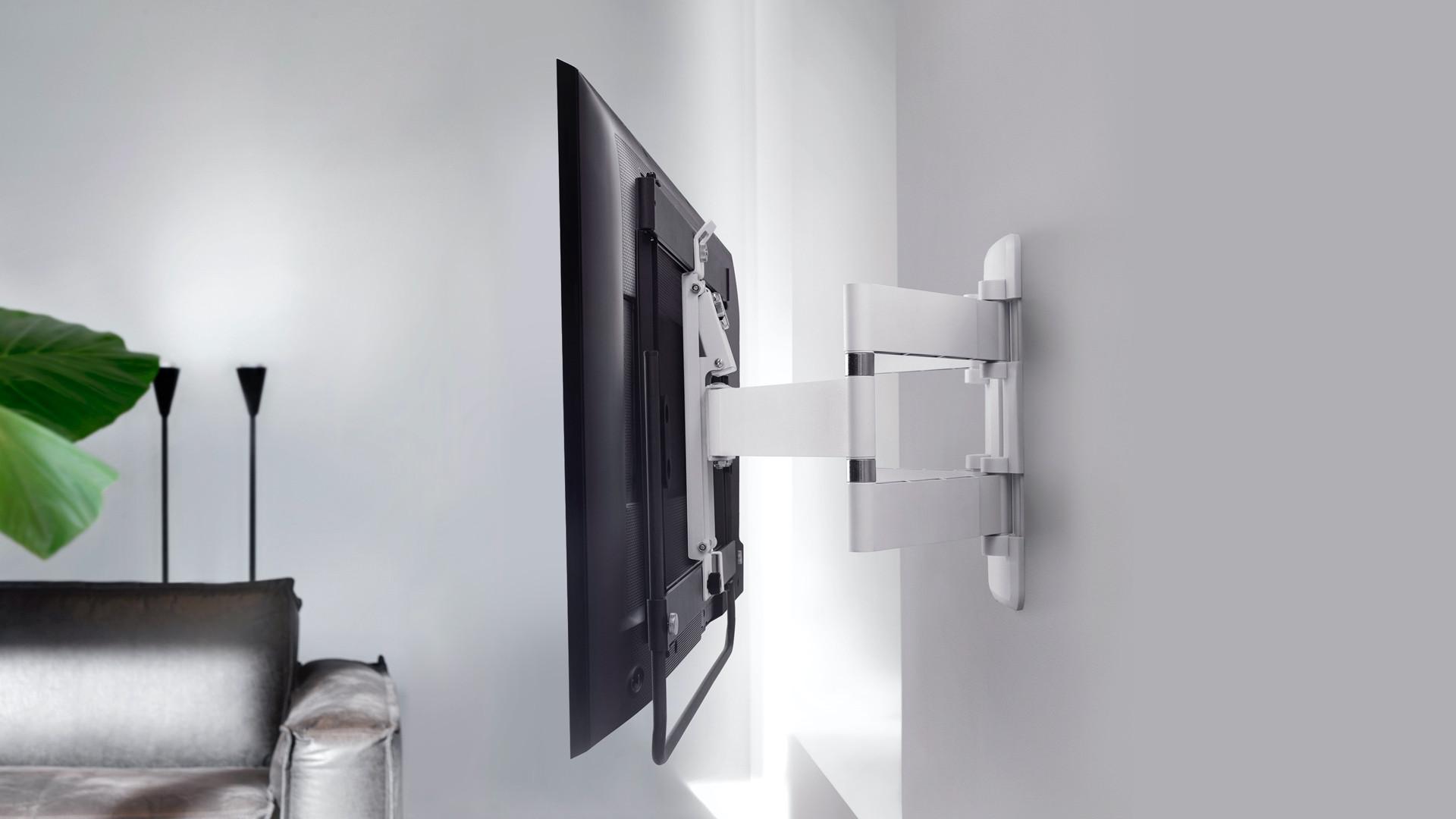 Монтаж телевизора на стену: выбор кронштейна и высота установки